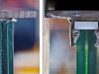 Analýza chování hybridních nosníků ze skla a oceli
