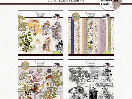 TWO new collections, templates and lots of CU