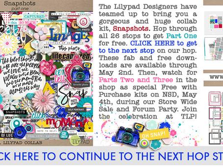 It's a Lilypad blog hop!