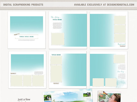 Big Fade photobook templates