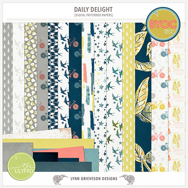 Daily Delight Papers by Lynn Grieveson
