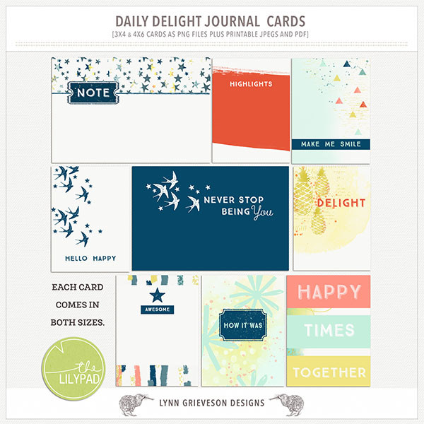 Daily Delight Journal cards