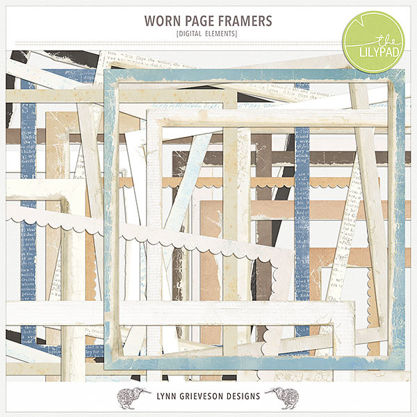 Worn Page Framers