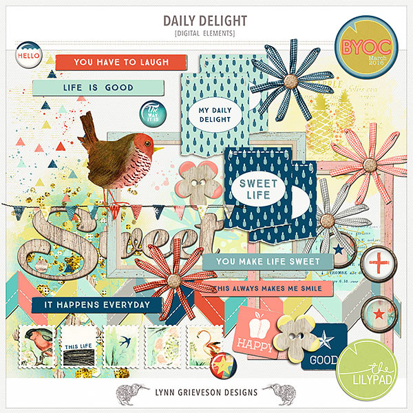 Daily Delight Elements by Lynn Grieveson