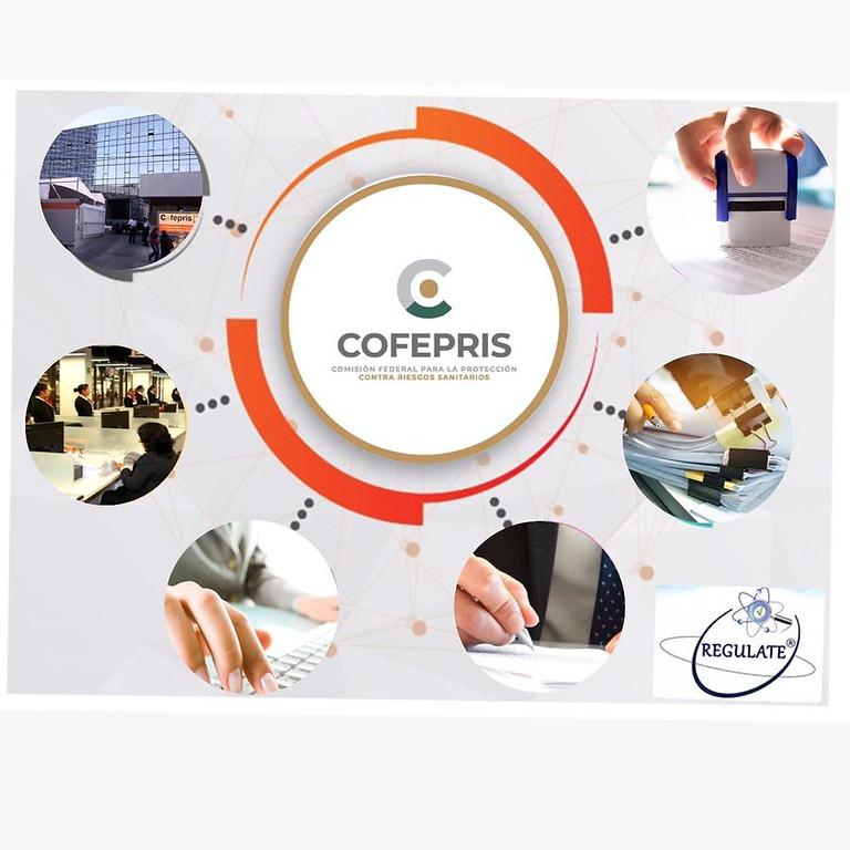 Curso Online Trámites ante COFEPRIS