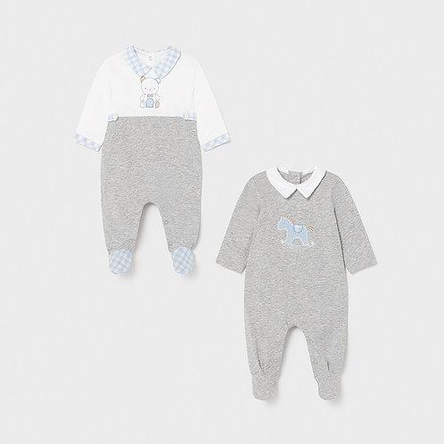 Set 2 pijamas largos