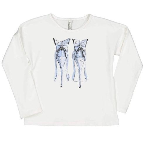 Camiseta tacones