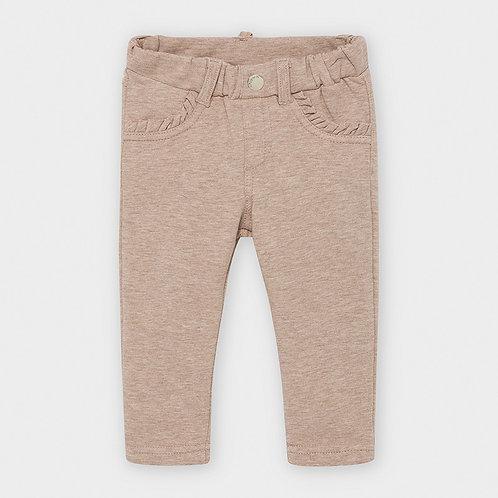 Pantalón felpa largo