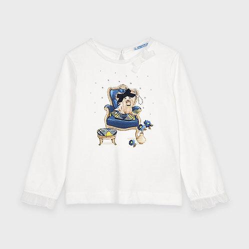 Camiseta manga larga perrito