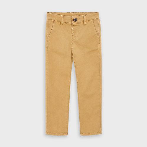 Pantalón chino básico largo