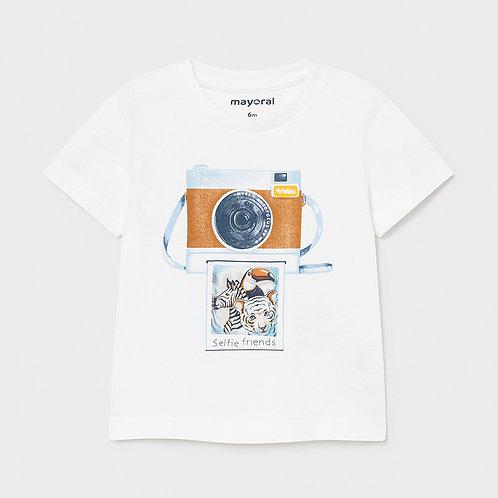Camiseta estampado camaras
