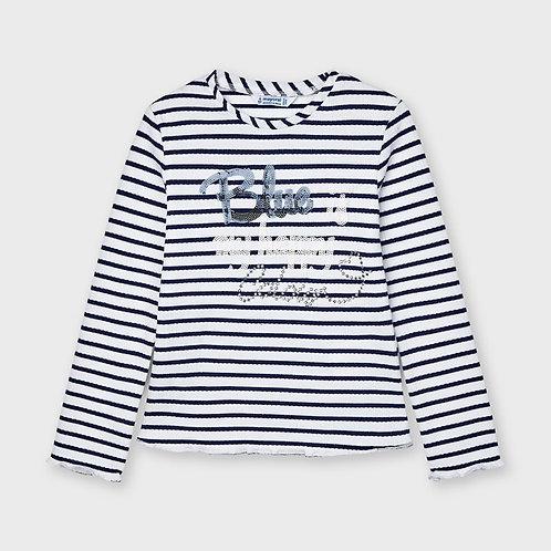 Camiseta manga larga rayas