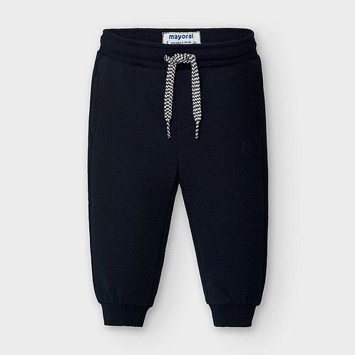 Pantalón largo felpa básico