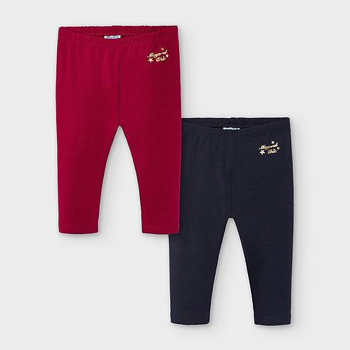 Set 2 leggins básicos