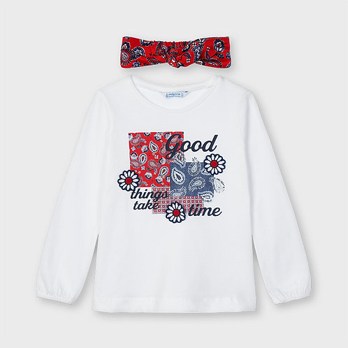Camiseta con diadema