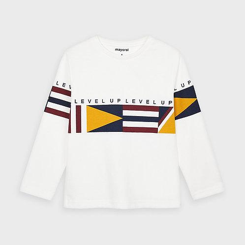 Camiseta manga larga bandas