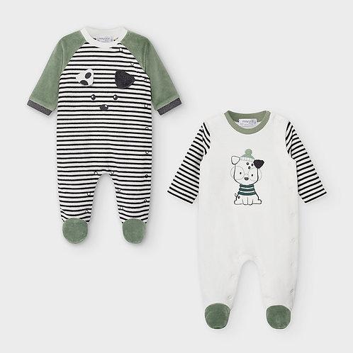 Set dos pijamas tundosados