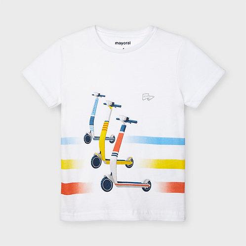 Camiseta manga corta patines