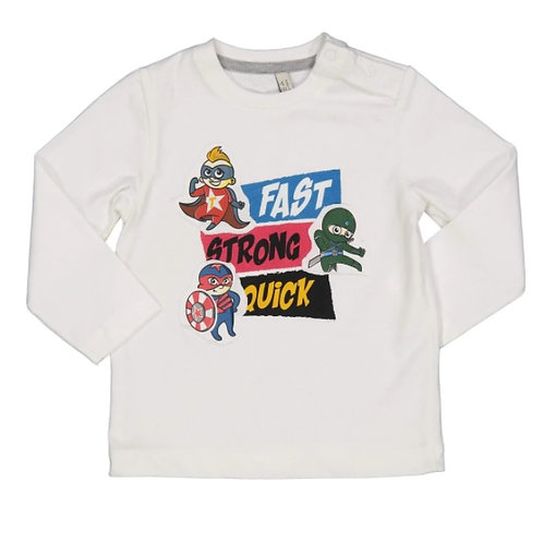 Camiseta superhéroes