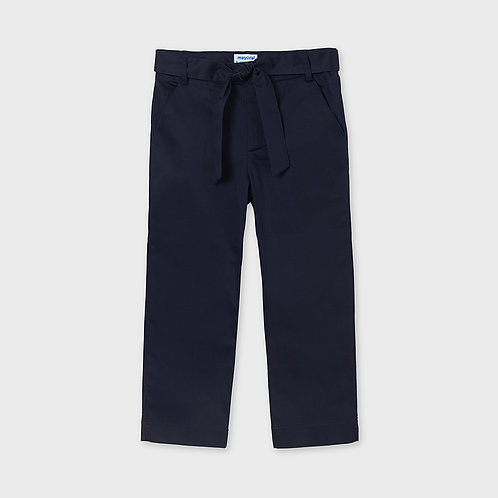 Pantalón largo satén
