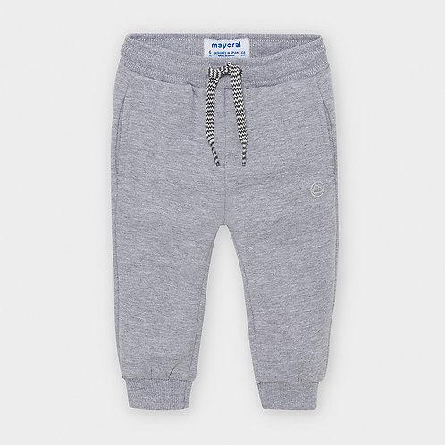 Pantalón felpa básico puños