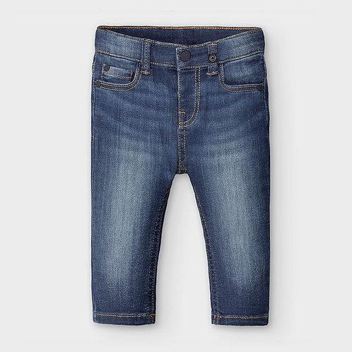 Pantalón largo vaquero slim fit