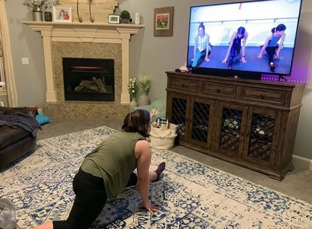 My Best Me 2020 Participants Talk About The Past Month Working Out From Home.