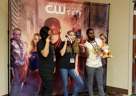 The Crew Attend the Arkansas Anime Festival Held in Bentonville This Past Weekend.