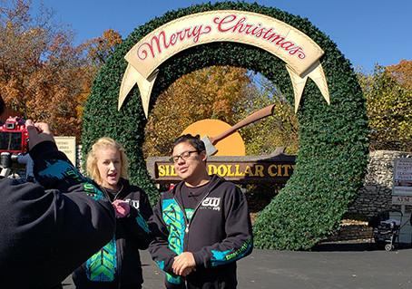 The Crew Checks out the Holiday Season at Silver Dollar City