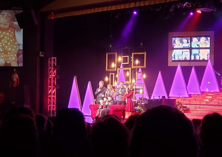 The Crew Checks Out The Bretts Family Christmas Show in Branson