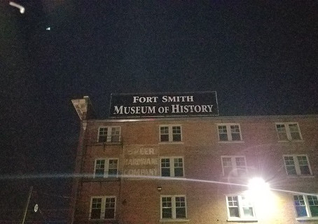 The Paranormal Adventures With The Crew Heads To The Fort Smith Museum of History.