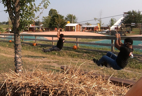 A Fun & Spooky Day at The Exeter Corn Maze!