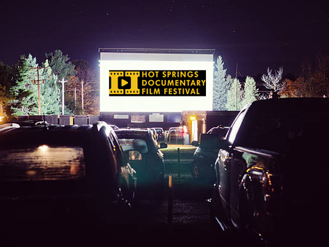 30th Annual Hot Springs Documentary Film Festival October 8th-16th.