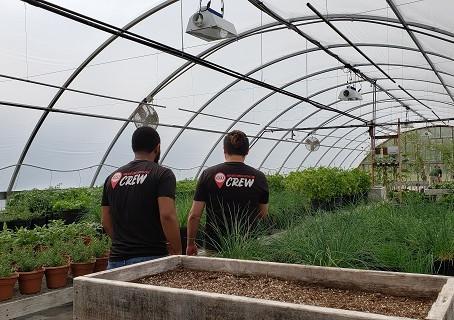 The Crew Checks out Downstream Casino Resort's Greenhouses.