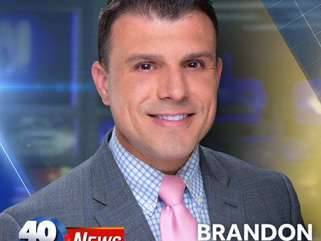 Brandon Evans Named Co-Anchor For 40/29 News At 9 PM On The Arkansas CW