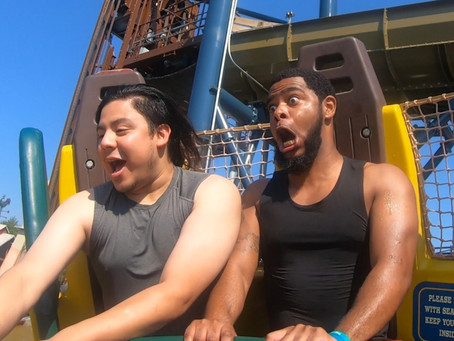 The Crew takes the Plunge on Mystic River Falls inside of Silver Dollar City!