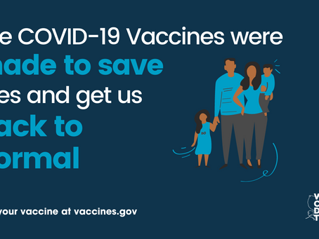 Help Us Get The Word Out!  National Vaccine Month of Action.