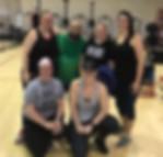 alyssa week-group work out.JPG