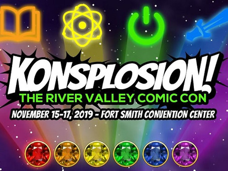 "Local Comic Con ""Konsplosion"" Special Guest Announcement"