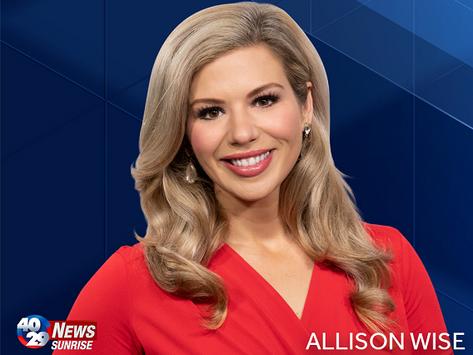 Allison Wise Named Anchor on 40/29 News Sunrise On The Arkansas CW.