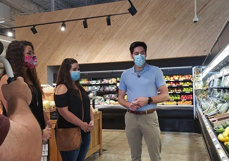 My Best Me 2020 Participants Update: Dietitian Healthy Food Tips Tour At Ozark Natural Foods.
