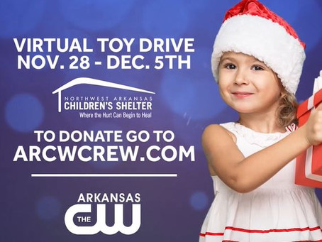 The Arkansas CW Virtual Toy Drive For the NWA Children's Shelter!