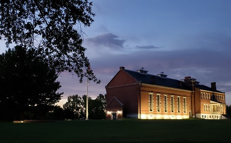 The Crew Ghost Hunts at Fort Smith National Historic Site.