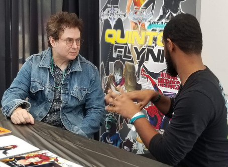 The Crew spoke with award-winning voice actor Quinton Flynn at Konsplosion