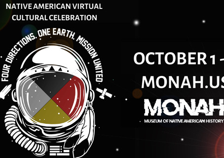 4th Annual Native American Virtual Cultural Celebration October 1st-3rd