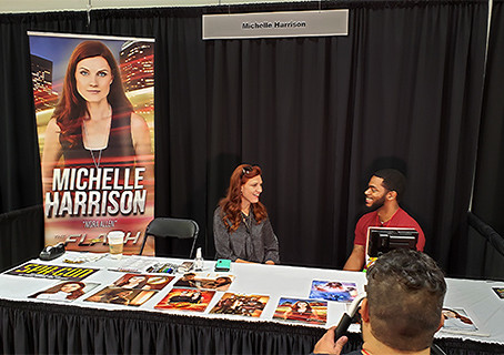 We had a chance to catch up with Michelle Harrison, who plays Nora Allen on CW Network's The Flash