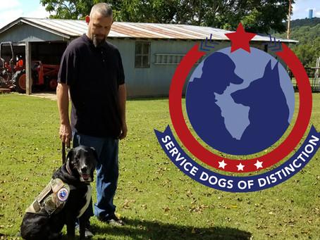 Army Veteran Bradley Drain Talks About the Service Dogs of Distinction Program