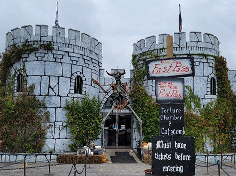 New Haunts At The Castle of Muskogee Halloween Festival!