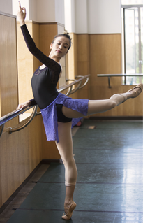 Danseuse ballet de Guangzhou