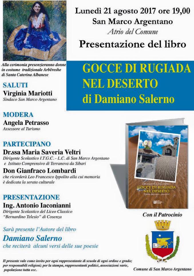 Gocce di rugiada nel deserto-Salerno